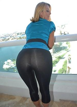 pants porn Yoga